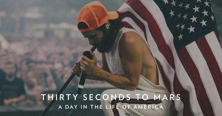 Jared Leto และ Thirty Seconds to Mars ส่งโปรเจกต์พิเศษแด่อเมริกา