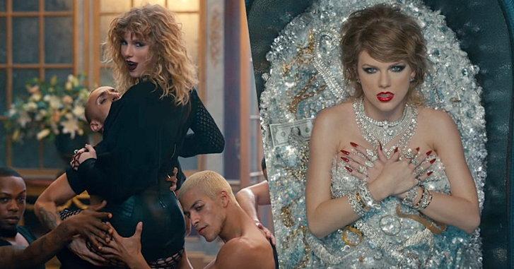 """แซ่บถึงทรวง! Taylor Swift เผยด้านมืดผ่านเอ็มวีสุดอลังการ! """"Look What You Made Me Do"""""""