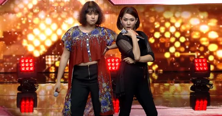 """ชาวเน็ตฮือฮา! จ๊ะเอ๋ - ป๊อปปี้ X Factor โชว์ร้อง """"ผู้สาวขาเลาะ"""" ยอดวิวทะลุล้าน!"""
