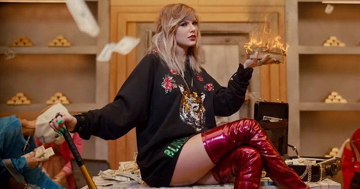 "Taylor Swift ผงาด! 4 วัน ทะลุ 100 ล้านวิว กับ ""Look What You Made Me Do"""