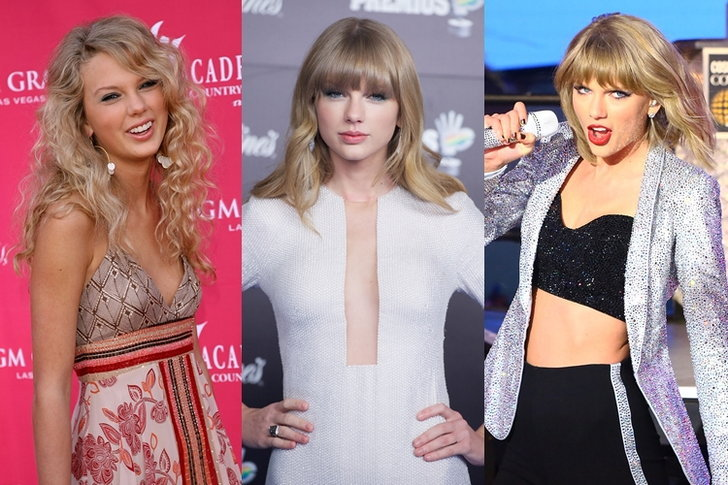 Taylor Swift กับพัฒนาการความสวย จากอดีตถึงปัจจุบัน