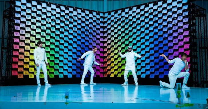 ล้ำอีกแล้ว! OK Go กับเอ็มวีภาพสวยด้วยกระดาษและเครื่องพิมพ์