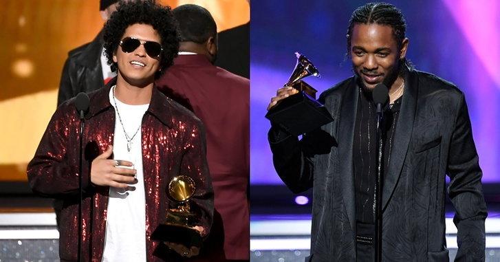 Bruno Mars, Kendrick Lamar นำทีมรับรางวัล Grammy Awards 2018