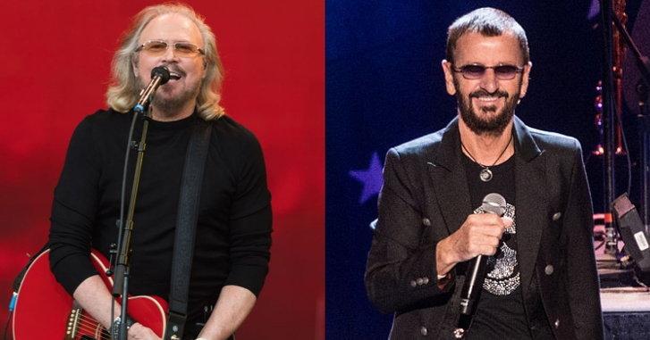 2 ศิลปินระดับตำนาน Ringo Starr และ Barry Gibb ได้รับพระราชทานยศอัศวิน
