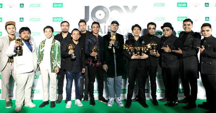 JOOX Thailand Music Awards เผยรางวัลพิเศษ สำหรับศิลปินและแฟนๆที่ติดตาม