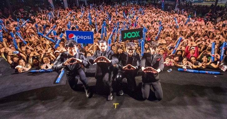 JOOX จัดชุดใหญ่ นำทัพศิลปิน BEC-Tero มอบความสนุกซ่าถึงมหาลัยฯ ทั่วประเทศ
