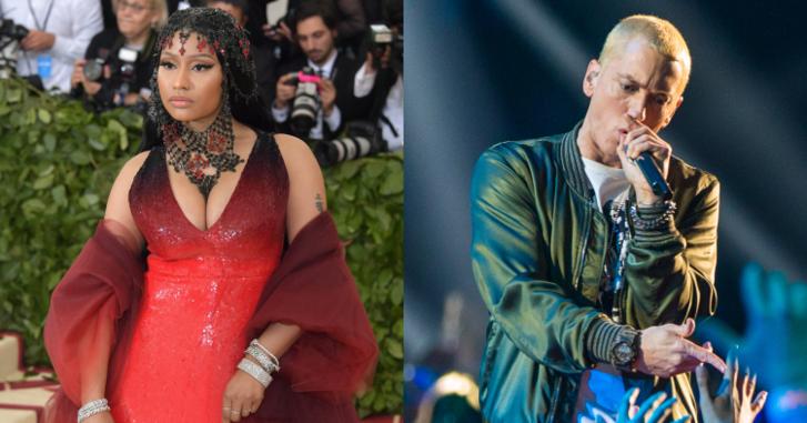 ไม่ต้องลือกันแล้ว! Nicki Minaj คอนเฟิร์มด้วยตนเอง กำลังคบหาอยู่กับ Eminem