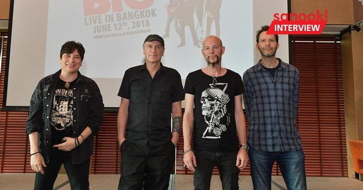 """""""ร็อคแอนด์โรลไม่มีวันตาย"""" ความในใจจากฮาร์ดร็อครุ่นเก๋า Mr. Big ก่อนเปิดคอนเสิร์ตใหญ่ในไทย"""