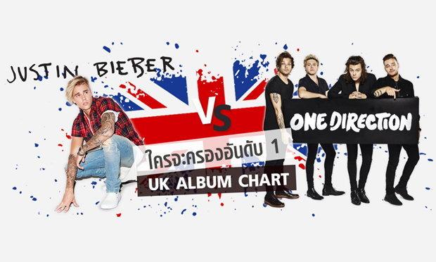 มวยถูกคู่! Justin Bieber VS One Direction อัลบั้มใหม่ใครจะอยู่ใครจะไป