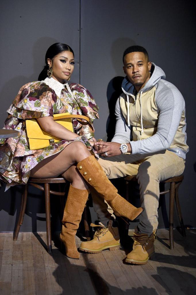 Nicki Minaj และสามี Kenneth Petty