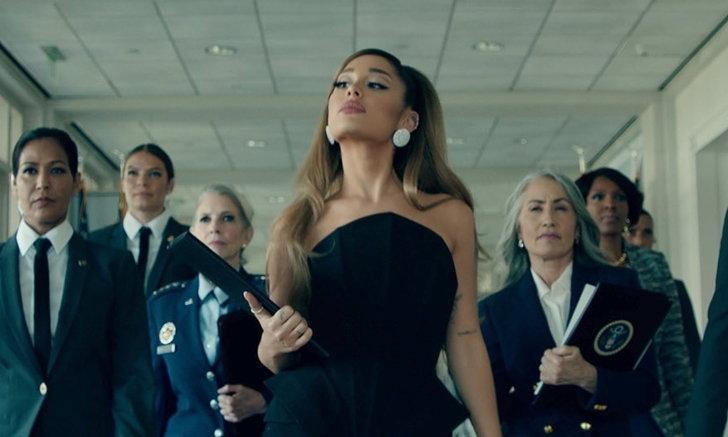 "Ariana Grande รับบท President สาว ในเอ็มวีเพลงใหม่ ""positions"""