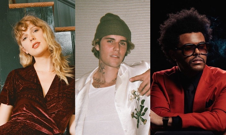 Taylor Swift, Justin Bieber, The Weeknd นำทีมรับรางวัล American Music Awards 2020
