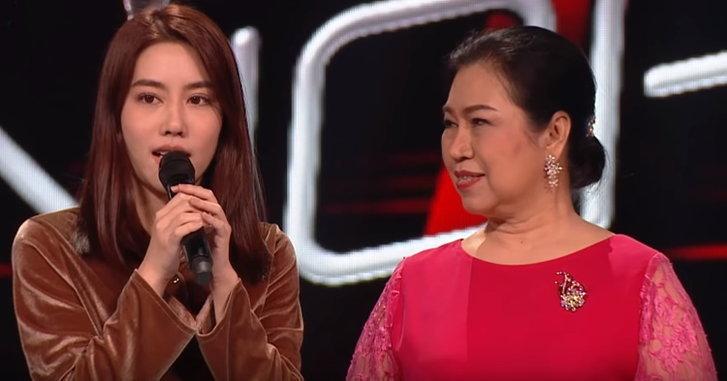 """""""แปม ศิรภัสรา"""" เปิดใจ! หลังได้ชมคุณแม่แข่งร้องเพลงใน """"The Voice Senior"""""""