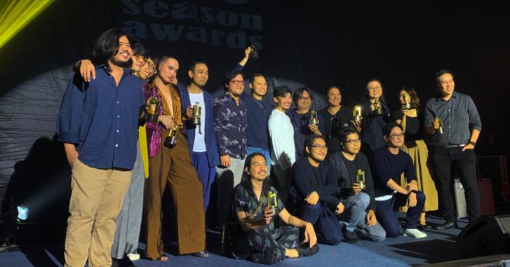 """Liberty กวาด 4 รางวัล """"สีสัน อะวอร์ดส์ ครั้งที่ 30"""" อพาร์ตเมนต์คุณป้า ซิว 2 สาขา"""