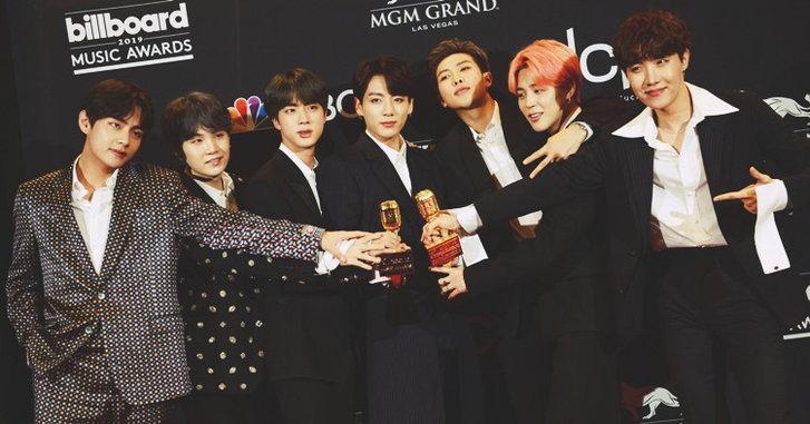 """เปิดข้อความ """"BTS"""" หลังสร้างประวัติศาสตร์คว้ารางวัลใหญ่งาน """"Billboard Music Awards 2019"""""""