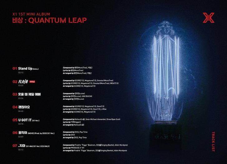 x1-quantum-leap-tracklist