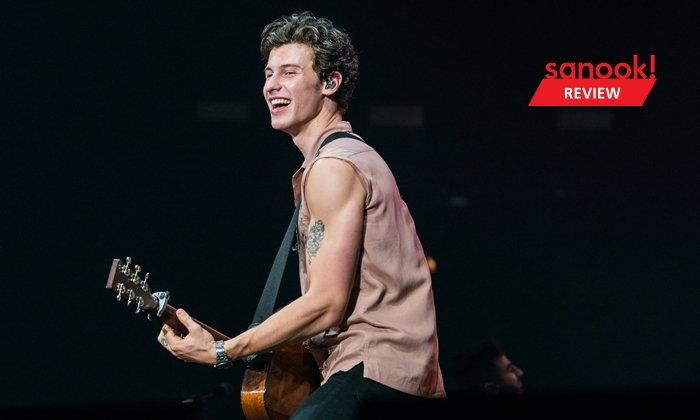 Shawn Mendes พาทุกคนเดินทางผ่านการเติบโตบนสายดนตรีในทัวร์ล่าสุด