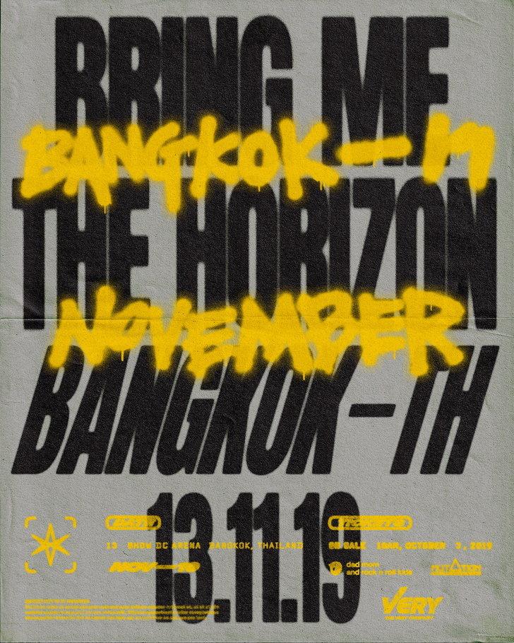 Bring Me the Horizon Live in Bangkok 2019