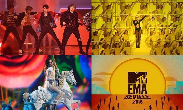 NCT 127, Dua Lipa, Halsey นำทีมศิลปินขึ้นโชว์เวที 2019 MTV EMAs