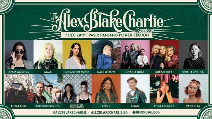 """ครั้งแรก! """"The Alex Blake Charlie Sessions"""" เทศกาลดนตรีที่คนรักเพลงอินดี้ห้ามพลาด!"""