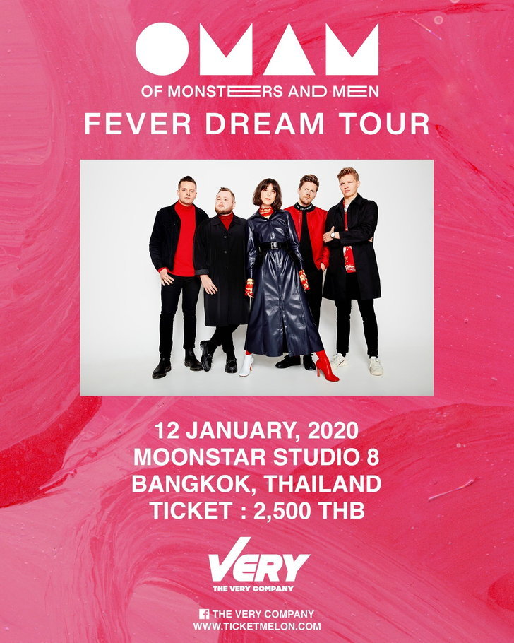 Of Monsters and Men Live in Bangkok