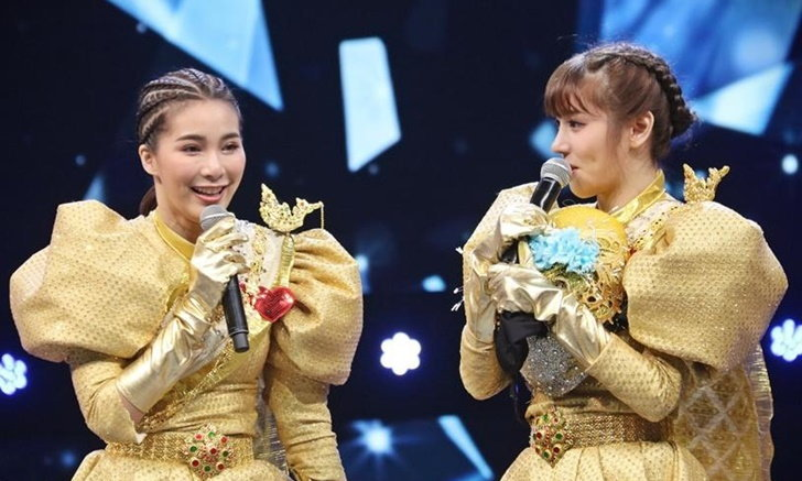 """เปิดข้อความซึ้ง """"จันจิ"""" ถึง """"แกรนด์"""" หลังร้องเพลงด้วยกันใน """"The Mask Mirror"""""""