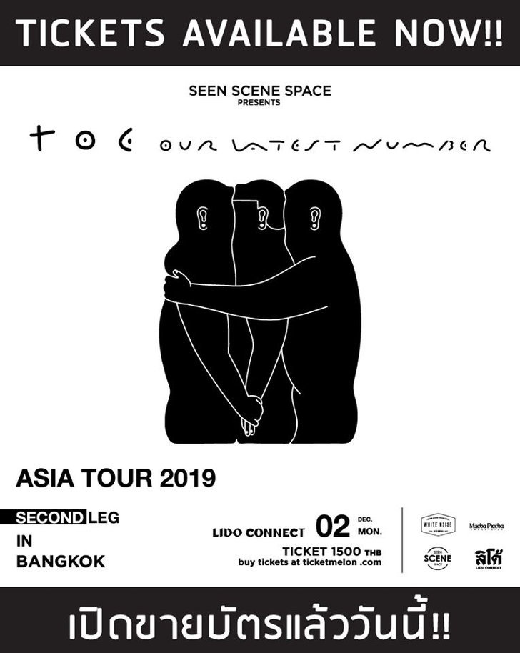 toe Live in Bangkok 2019