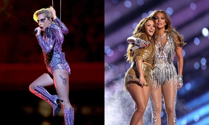 "Lady Gaga เตือน J.Lo,Shakira ""ไม่อยากเห็นลิปซิงค์"" ใน Halftime Show ศึก Super Bowl ครั้งที่ 54"