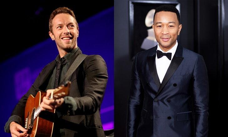 """Chris Martin-John Legend"" นำทีมศิลปินไลฟ์สดแสดงดนตรีสู้ ""โควิด-19"""