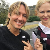 Keith Urban & Nicole Kidman on US Election 2016