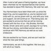 คามิลล่า Fifth harmony