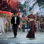 Lady Gaga, Bruno Mars, The Weeknd at Victoria's Secret Fashion Show 2016 in Paris