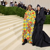 Met Gala 2021: Rihanna + ASAP Rocky