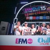 """ทะเลชะอำเดือด! """"EFM x CHILL on The Beach #15"""" พาแฟนเพลงแดนซ์จัดหนัก"""