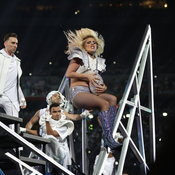 Lady Gaga at Super Bowl LI Halftime Show