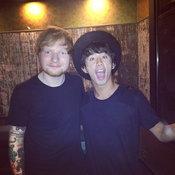 Ed Sheeran and Taka ONE OK ROCK