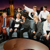 BTS @ The Late Late Show with James Corden