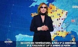 เอ็นดู! โยชิกิ X Japan ในมาดผู้ประกาศข่าวพยากรณ์อากาศที่ฝรั่งเศส