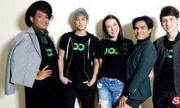 เปิดตัว 5 คนรุ่นใหม่ ผู้เข้ารอบสุดท้ายรายการ JOOX Audition