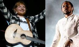 Ed Sheeran, Kendrick Lamar นำทีมคว้ารางวัล Billboard Music Awards 2018