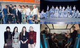 BTS, NCT, BLACKPINK, EXO ครองแชมป์ศิลปิน K-POP ที่ถูกเมนชั่น-รีทวีตมากที่สุดในโลก