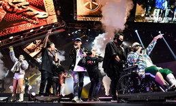 """แฟน """"The Rapper"""" เฮลั่น! """"โปรดิวเซอร์-โค้ช-ผู้เข้าแข่งขัน"""" รวมตัวขึ้นเวที All Star Concert"""