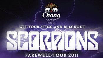 สกอร์เปี้ยน แฟร์เวล ทัวร์ 2011 คอนเสิร์ตครั้งสุดท้าย แมงป่องผยองเดช