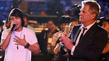 """เซอร์ไพรส์! """"โรส ศิรินทิพย์"""" ตื้นตัน ได้ร้องเพลงต่อหน้า """"David Foster"""""""