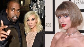 """ใครจริงใครแถ? Kim Kardashian VS Taylor Swift ดราม่าเพลง """"Famous"""" ของ Kanye West"""