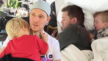 Michael Bublé พักงาน เมื่อลูกชายวัย 3 ขวบป่วยเป็นมะเร็ง
