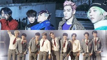 10 อันดับวง K-POP ยอดนิยมประจำปี 2016