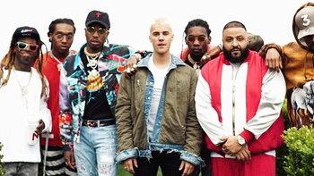 Justin Bieber โดดจอยเอ็มวีใหม่ DJ Khaled พร้อมแร็ปเปอร์อีกเพียบ!