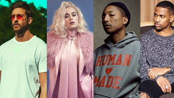 "Calvin Harris ชวน Katy Perry, Pharrell Williams, Big Sean ปล่อยเพลงใหม่ ""Feels"""