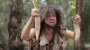 """ฮามาก! บร๊ะเจ้าโจ๊ก แสดงบทมนุษย์ยุคหินสุดฮาในเอ็มวี """"คนกลัวเมีย"""""""